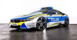 Saksan poliisi sai AC Schnitzerin tuunaaman BMW i8:n – autoa käytetään kuitenkin vain mainostarkoituksiin