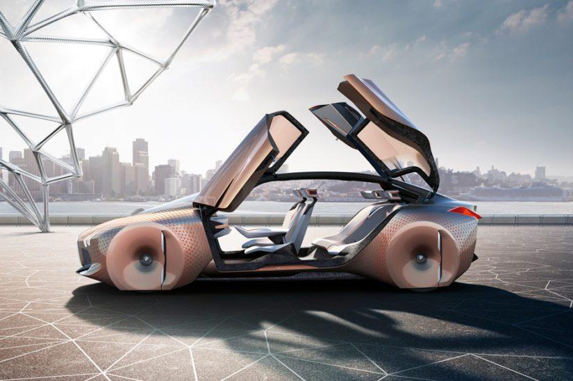 INext on baijerilaisten ensimmäinen auto, joka yltää kolmostason autonomiseen ajamiseen.