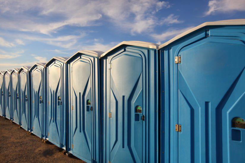 """""""WC-tiloja voisi olla enemmän"""", kuuluu kaikkien festareiden jokavuotinen palaute. (Kuva Fotolia)"""