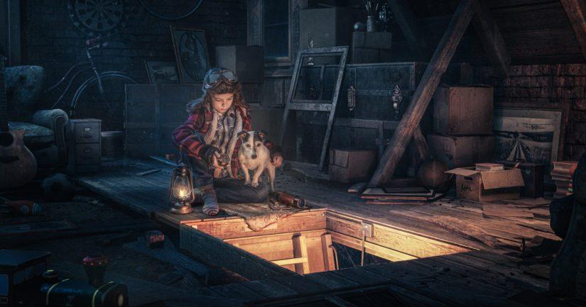 """Voittajakuvassa malleina olivat poika ja perheen koira – """"Erityislaatuista mielikuvitusta ja teknistä osaamista"""""""