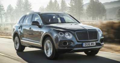 Bentley suunnittelee sähkötoimista katumaasturia