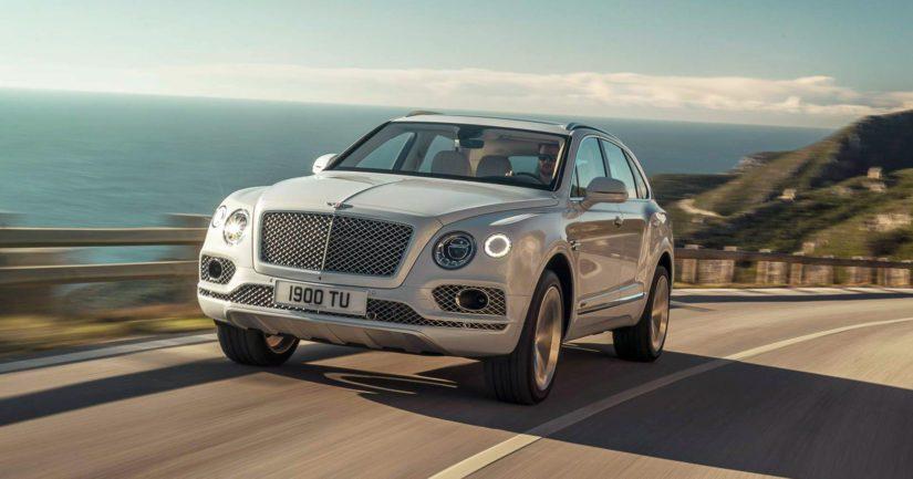 Bentleyllä on suuria myyntiodotuksia Bentaygan pistokehybridiversiota kohtaan.
