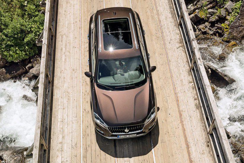 Ensimmäisten Borgwardien pitäisi putkahtaa linjoilta ulos vuonna 2018. (Kuva Borgward)