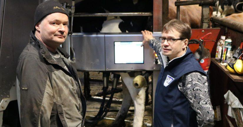 Brandtin veljekset Markku ja Mika ovat kiinnostuneita myös toimintojen automatisoinneista ja sitä kautta työtä helpottavista ratkaisuista.