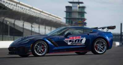 Uusi Corvette ZR1 palvelee Indianapolis 500:n turva-autona – 755-hevosvoimainen sportti on historian tehokkain
