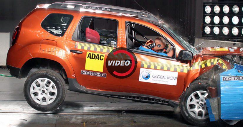 Testatussa yksilössä ei ollut airbageja, ja niinpä se saavutti katastrofaaliset nolla tähteä aikuismatkustajien turvallisuuden osalta.