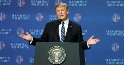"""Donald Trump ja Kim Jong-un eivät päässeet Vietnamissa diiliin – """"Joskus täytyy vain kävellä pois"""""""