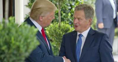 Sauli Niinistö tapaa Donald Trumpin – keskustelussa yhteistyön lisääminen Suomen ja USA:n välillä
