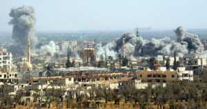 """Kansainvälinen yhteisö tuomitsee kaasuiskut – """"Syyriassa on käytetty kemiallisia aseita ja useita kertoja"""""""