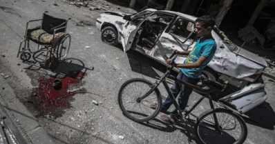 Venäjä käyttää palopommeja siviilejä vastaan Syyriassa