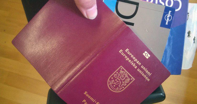 Suomalainen passi ei herätä epäluuloja maailmalla, viranomaisetkin ovat ymmärtäväisiä.