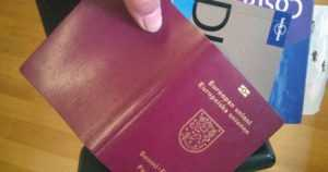 Tarkista juokseeko sinun passisi viisumisivulla hirvi? – Joutsenta esittävä vesileima voi olla väärin päin