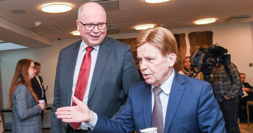Brysseliin seuraavaksi suuntaavat eduskuntaveteraanit Eero Heinäluoma sekä Mauri Pekkarinen.