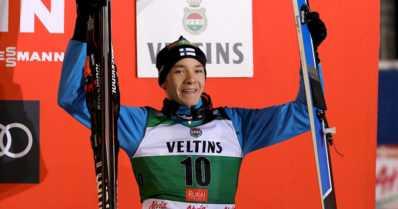Eero Hirvonen kolmatta kertaa palkintopallille – neljä suomalaista maailmancup-pisteille