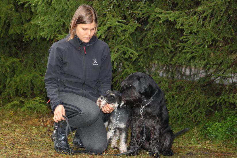 Oululainen Elina Niskanen on ylpeä karvaisista kavereistaan, Jekusta ja Teposta. Myös Teppo oli mukana dramaattisissa tapahtumissa, mutta tällä kertaa vain sivusta seuraajan roolissa.