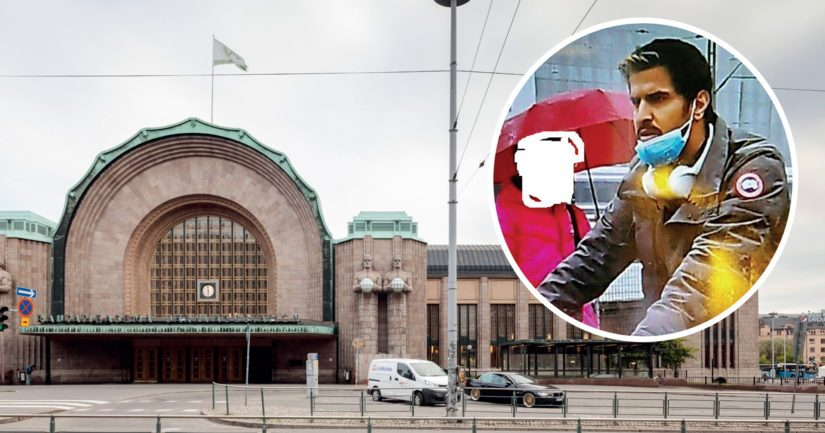 Miehen epäillään syyllistyneen pahoinpitelyyn Helsingin päärautatieasemalla sunnuntaina 12. syyskuuta.