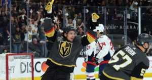 Erik Haulan Vegas Golden Knights aloitti finaalisarjan voitolla – haalarikenttä ratkaisijana