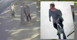 Iäkkään naisen veitsellä uhaten ryöstänyt valvontakameroiden kuvissa – tunnistatko naisen?