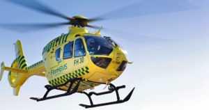 Rajavartioston kuorma-auto törmäsi henkilöautoon – vakavasti loukkaantunut nainen vietiin helikopterilla sairaalaan