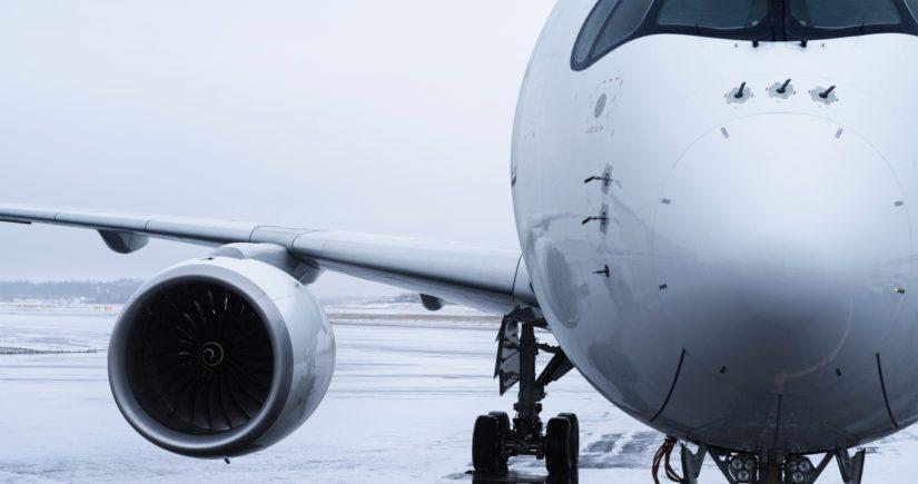 Finnairin A-350-kone lastinaan kirurgisia maskeja ja hengityksensuojaimia saapui Kiinasta.