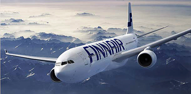 Finnair operoi huhtikuun alusta lähtien toistaiseksi ainoastaan noin kahtakymmentä lentoreittiä.