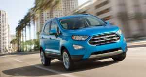 Ford kuoppaa pikkutila-autonsa crossoverin hyväksi – EcoSport aloittaa Euroopassa