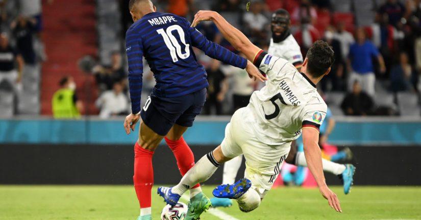 Ranska kukisti Saksan EM-futiksen huippuottelussa 1-0 (Kuva: Sebastian Widmann - UEFA)