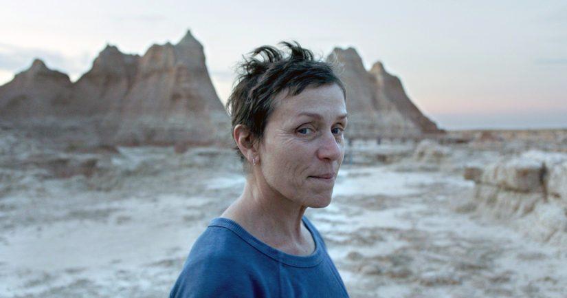 Frances McDormand palkittiin parhaan naispääosan Oscarilla elokuvasta Nomadland.