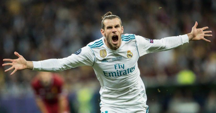 Gareth Balella oli Mestarien liigan finaalissa kahden täysosuman päivä.
