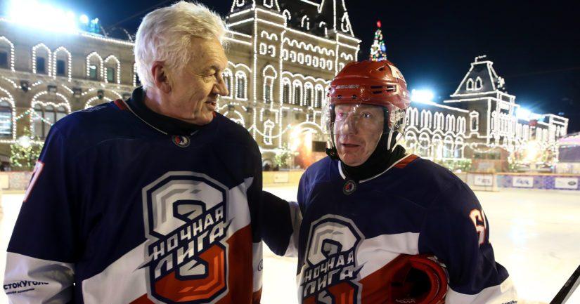 Upporikkaat oligarkit Gennadi Timtshenko ja Vladimir Potanin vastaavat Jokereiden toiminnan rahoituksesta