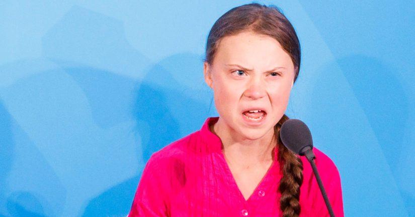 Nuorten kansainvälisen ilmastolakkoliikkeen perustaja Greta Thunberg puhui YK:n ilmastokokouksessa.