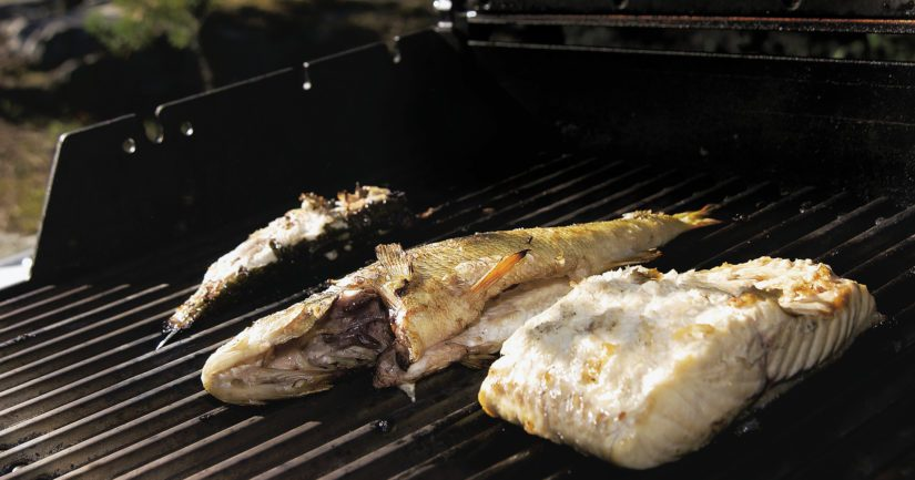 Tarjoa lisukkeeksi keitettyjä uusia perunoita tai grilliperunaviipaleita ja vihersalaattia.