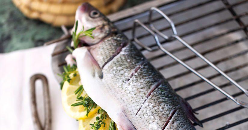 Kala kuten siika on erinomainen grillattava nopean kypsymisensä ansiosta.