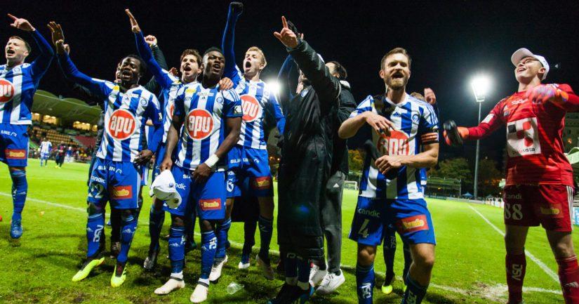 HJK:lla on yhä mahdollisuuksia mestaruuteen (Kuva AOP)