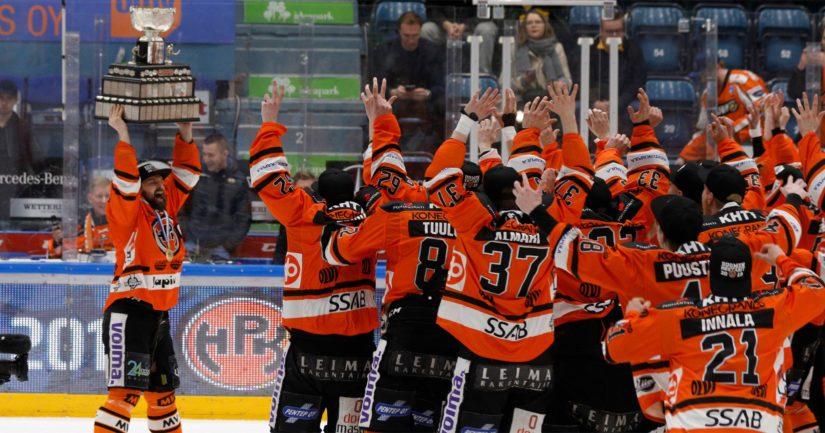 HPK kaatoi Oulun Kärpät seitsemännessä loppuottelussa dramaattisten vaiheiden jälkeen.