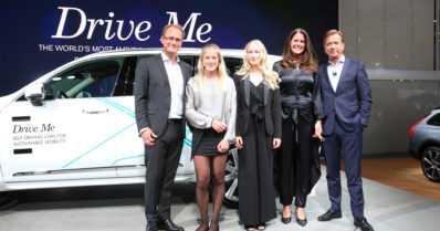 Ruotsalaisperhe pääsee jo nyt autonomisen Volvon kyytiin