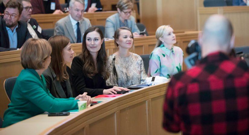Ilmastokokouksessa julkistettiin hallituspuolueiden yhteinen Reilulla siirtymällä kohti hiilineutraalia Suomea -tiekartta.