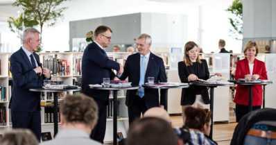 Uusi hallitus nimitetään ja ministerilistat ovat valmiit – Antti Rinne tapaa Sauli Niinistön