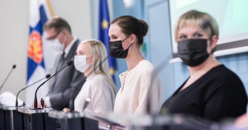 Pääministeri Sanna Marinin johtama hallitus kertoi tiedotustilaisuudessa tavoittelevansa 75 prosentin työllisyysastetta.