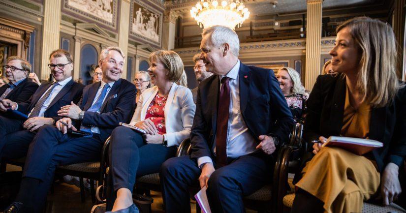 Neuvotteluissa mukana olevat puolueet olivat Sdp, keskusta, vihreät, vasemmistoliitto ja Rkp.