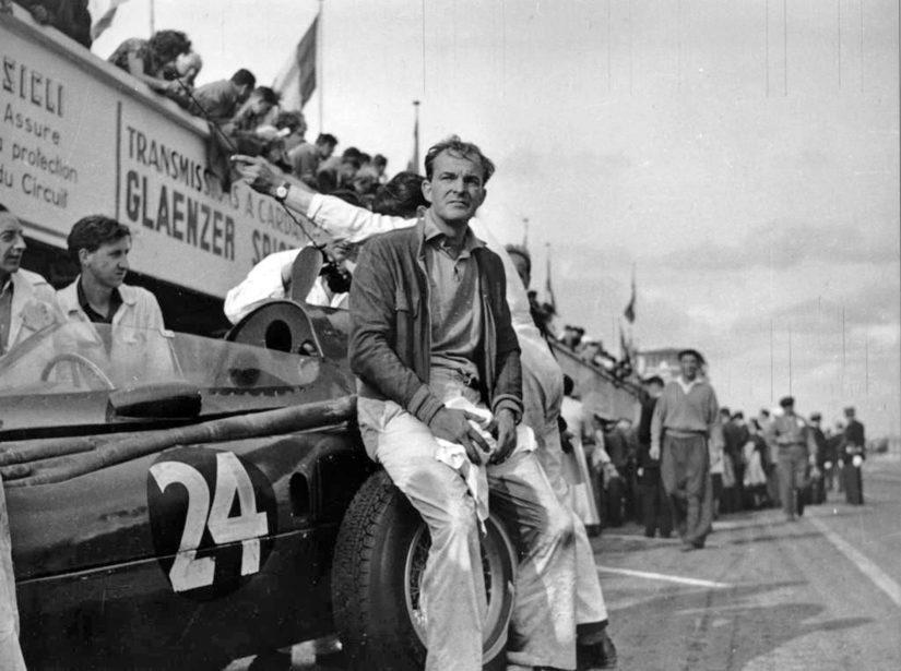 Harry Schell saavutti F1-kisoissa 32 pistettä ja kaksi palkintosijaa. (Kuva Acheleron)