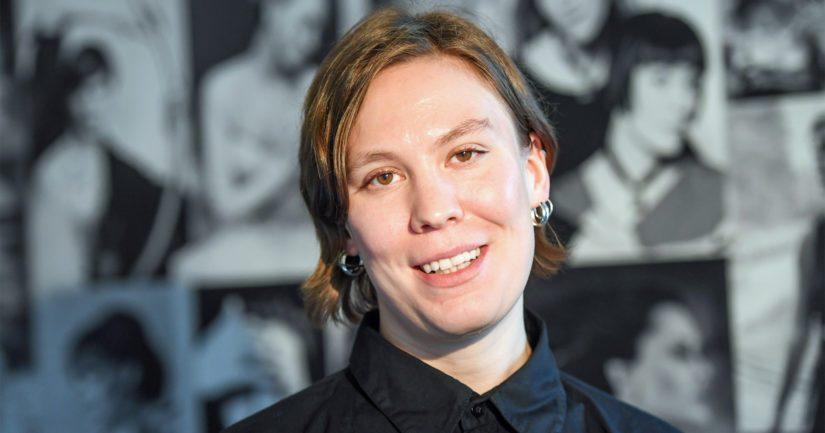 Heidi Karjalainen suunnitteli linnan juhlien katsotuimman puvun.
