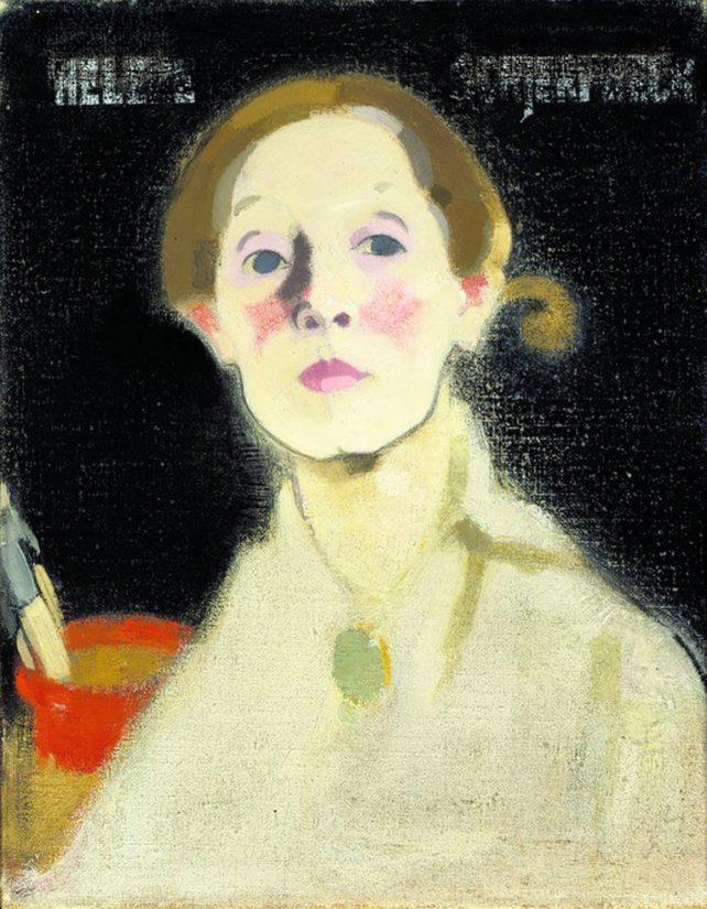 Helene Schjerfbeck: Omakuva