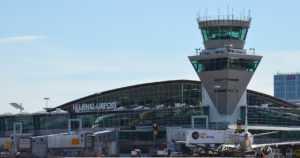Lentoaseman alueelle on tunkeuduttu luvatta –