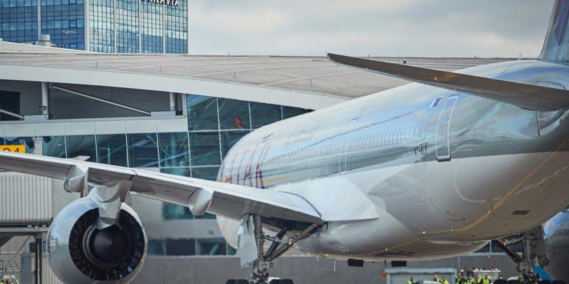 Qatar Airwaysin lennon oli määrä lähteä aamulla Helsinki-Vantaan lentoasemalta.