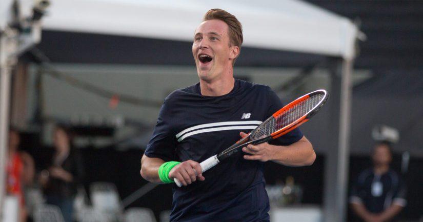 Henri Kontisen pelit Wimbledonissa tulivat päätökseensä.