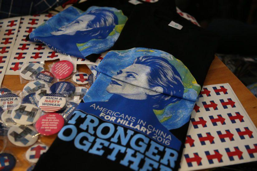 Hillary Clinton ei lopulta onnistunut yhdistämään kaikkia kannattajiaan. (Kuva AOP)