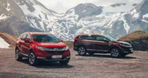 Hondan kestosuosikki uudistuu – viidennen sukupolven CR-V:n myynti alkaa myös Euroopassa