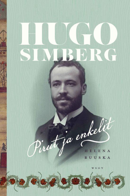 Hugo Simbergin teokset kulkevat tekstissä saumattomasti mukana ja avautuvat kirjan kautta uudella tavalla.