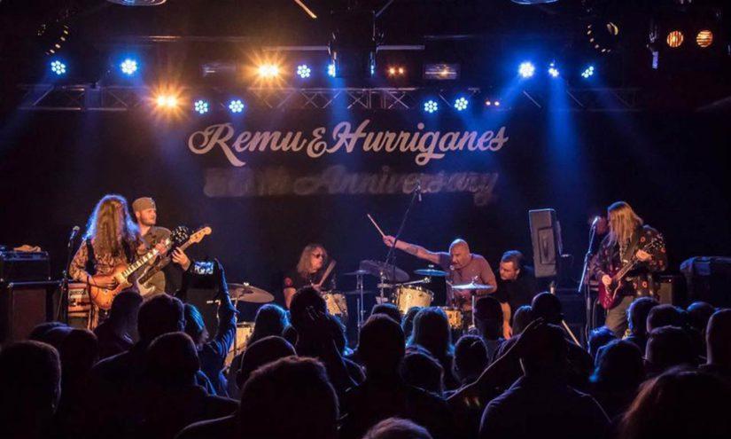 Remu & Hurriganesin uuden albumin julkaisukeikka pidetään Tavastialla 13.12.2016.